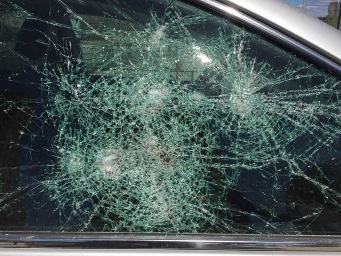 URJiA8r5 В Якутске разбили автомобиль известного общественного деятеля (Видео)