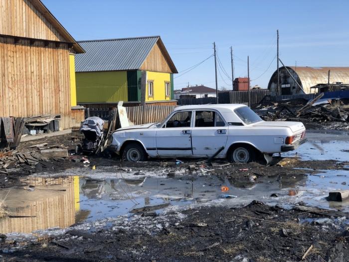 nklcdt0k В Якутии некогда процветавший поселок тонет в фекальных водах