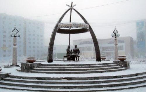 В Якутске вандал сам назначил себе наказание