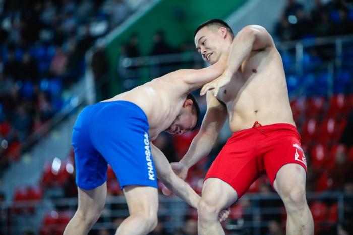 В Якутске сегодня стартовал VI открытый республиканский турнир МВД по борьбе хапсагай