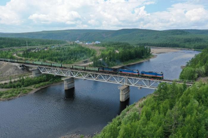 За первую половину 2019 года компания «Железные дороги Якутии» перевезла около 3,5 млн тонн грузов