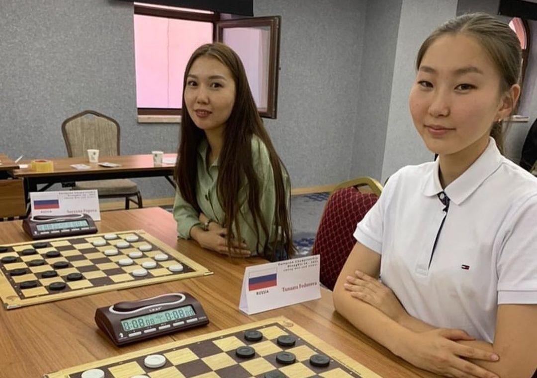 Якутянки выиграли командный чемпионат мира по шашкам-64