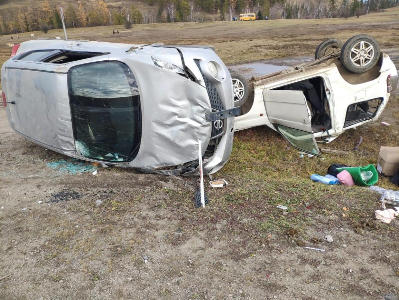 В Якутии в ДТП пострадали четыре человека